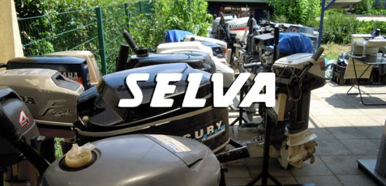 Selva 4-25 PS used outbords parts